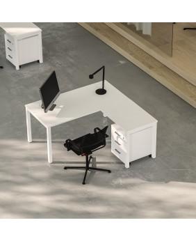 mesa de oficina nova plus de ofitres con ala lateral.