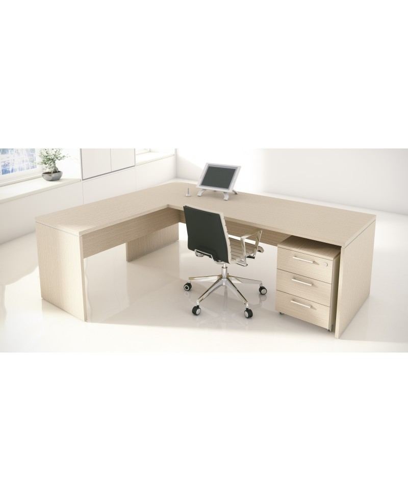 Mesa de oficina con extensión NEW PANO