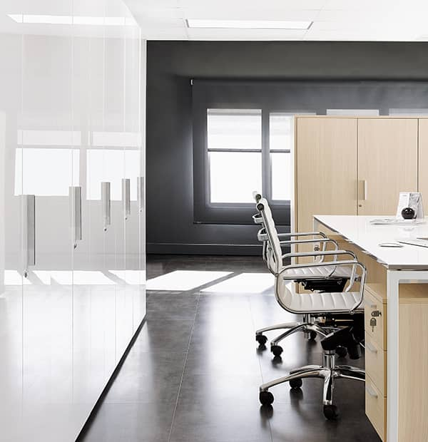 Armario para oficina con acabado luxe